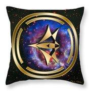 Starship Meridian Throw Pillow