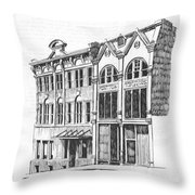 State Publishing And Parchen Building Helena Montana Throw Pillow