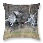 Stay With Your Wingman Throw Pillow