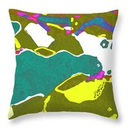 Steamboat Rock 09 Throw Pillow