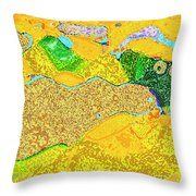 Steamboat Rock 11 Throw Pillow