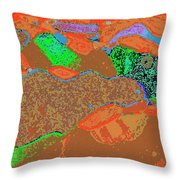Steamboat Rock 12 Throw Pillow