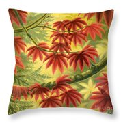 Still Blushing Throw Pillow