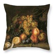 Still Life, 1808 Throw Pillow