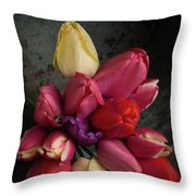 Still Life With Tulips 35 Throw Pillow