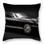 Stingray Style Throw Pillow