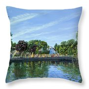 Straw Jack Carshalton Throw Pillow