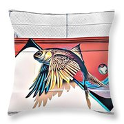 Street Art 15 Fc Throw Pillow