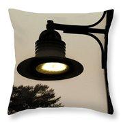 Street Lamp Throw Pillow