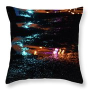 Street Magic  Throw Pillow