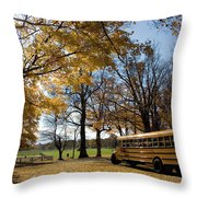 Study In Yellow Throw Pillow