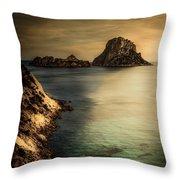 Summer In Ibiza Throw Pillow