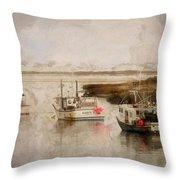 Summer On Cape Cod Xxxiv Throw Pillow