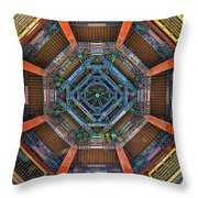Summer Palace Ceiling Throw Pillow