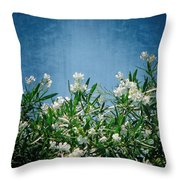Summer Wildflowers Throw Pillow by Carolyn Marshall