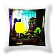 Summertime Downtown Lexington  Throw Pillow