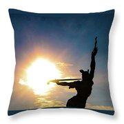 Sunblast Of Louisiana Throw Pillow