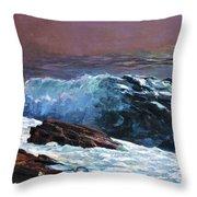 Sunlight On The Coast - Digital Remastered Edition Throw Pillow