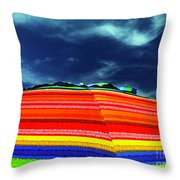 Sunny Side Up Throw Pillow by Rick Locke