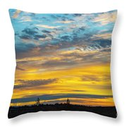 Sunrise At Beaumont Throw Pillow