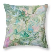 Sunrise In The Garden Throw Pillow