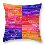 Sunset And Sherbet Throw Pillow