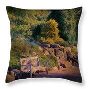 Sunset Serenade Throw Pillow