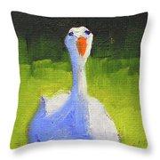 Sunshine Goose Throw Pillow