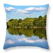 Susquehanna River Throw Pillow