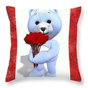 Sweet Bear Throw Pillow