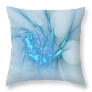 Sweet Blues Throw Pillow