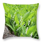 Sweet Fragrance Throw Pillow