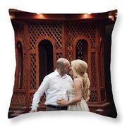 Sweet Romance Throw Pillow