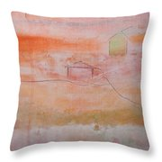 Sweet Suburbs Throw Pillow by Kim Nelson