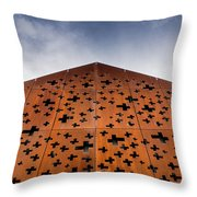 Swiss Comfort Station Throw Pillow