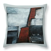 Synthesis Number Three Throw Pillow