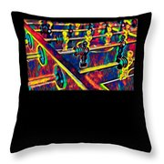 Table Soccer Sport Fan Design Colored Throw Pillow