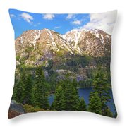 Tahoe Inspiration Point Throw Pillow