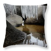 Tahoe Today Throw Pillow by Sean Sarsfield