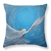 Take The Space Between Us Throw Pillow by Kevin Daly