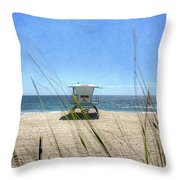 Tamarack Beach Throw Pillow