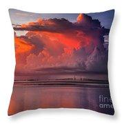 Tampa Bay Storm Throw Pillow