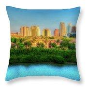 Tampa, Florida Throw Pillow
