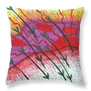 Tarot Of The Younger Self Eight Of Wands Throw Pillow