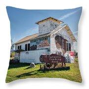 Tatanka Trading Post Throw Pillow