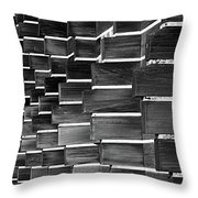 Technocratic Wall Throw Pillow by William Selander