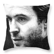 Ted Bundy Court Throw Pillow