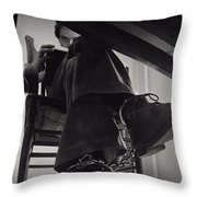 Ted Bundy Desk Throw Pillow