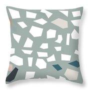 Terrazzo 1- Art By Linda Woods Throw Pillow