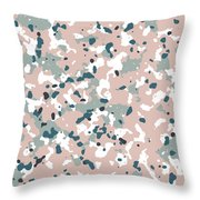 Terrazzo Splash 3- Art By Linda Woods Throw Pillow